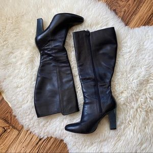 Poppy Barley Tall Boots Black Size 6.5